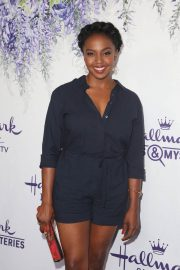 Jerrika Hinton at Hallmark Channel Summer TCA Party in Beverly Hills 2018/07/27 5