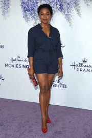 Jerrika Hinton at Hallmark Channel Summer TCA Party in Beverly Hills 2018/07/27 9