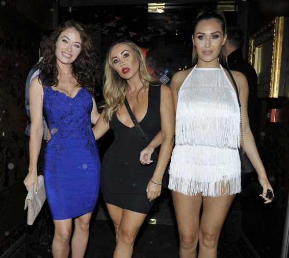 Jess Impiazzi and Chloe Goodman and Lauryn Goodman at Menagerie Bar and Restaurant in Manchester 2018/08/11 1