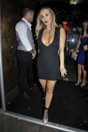 Jess Impiazzi and Chloe Goodman and Lauryn Goodman at Menagerie Bar and Restaurant in Manchester 2018/08/11 4