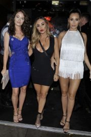 Jess Impiazzi and Chloe Goodman and Lauryn Goodman at Menagerie Bar and Restaurant in Manchester 2018/08/11 10
