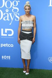 Jessica Szohr at Dog Days Premiere in Century City 2018/08/05 12