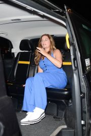 Karren Brady Leaves Annabel's in London 2018/08/16 2