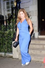 Karren Brady Leaves Annabel's in London 2018/08/16 3