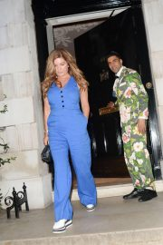 Karren Brady Leaves Annabel's in London 2018/08/16 4
