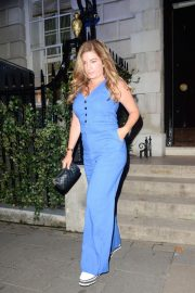 Karren Brady Leaves Annabel's in London 2018/08/16 5