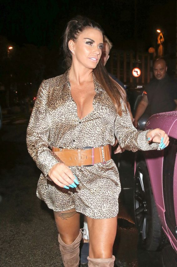 Katie Price at Acapulco Nightclub in Halifax 2018/07/28 1