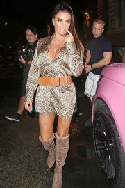 Katie Price at Acapulco Nightclub in Halifax 2018/07/28 11