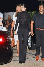 Kendall Jenner and Caitlyn Jenner at Nobu in Los Angeles 2018/08/22 3