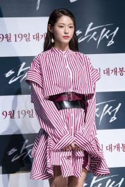 Kim Seol-hyun at The Great Battle Press Conference in Seoul 2018/08/21 1