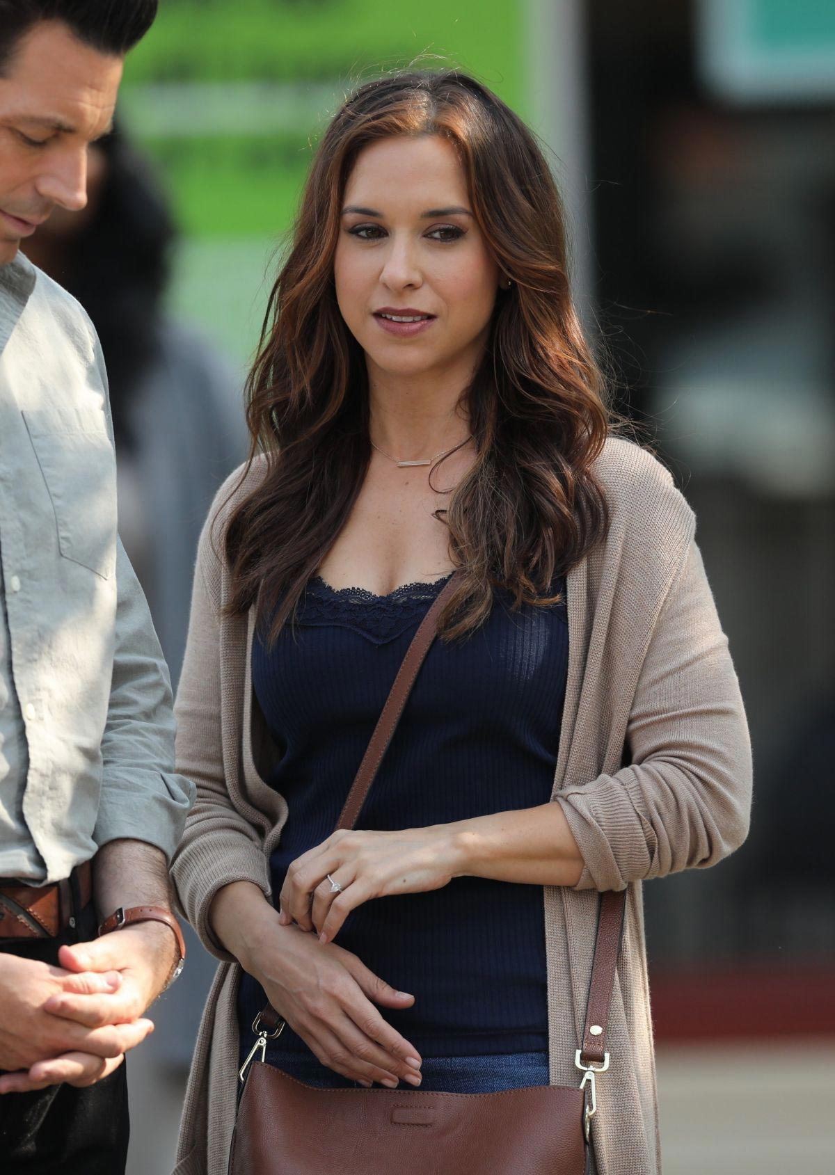 Lacey Chabert Wedding.Lacey Chabert On The Set Of All Of My Heart The Wedding In