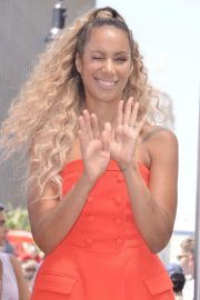 Leona Lewis at Simon Cowell Star on the Hollywood Walk of Fame Ceremony 2018/08/22 1
