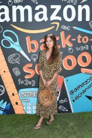 Lindsay Price at Amazon Back-to-school Prep in Pacific Palisades 2018/08/18 4