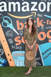 Lindsay Price at Amazon Back-to-school Prep in Pacific Palisades 2018/08/18 5