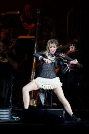 Lindsey Stirling Performs at Coral Sky Amphitheatre in Palm Beach 2018/08/18 16