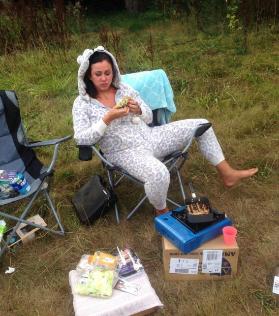 Lisa Appleton Forced to Live in Tree House in Wolverhampton 2018/08/14 1