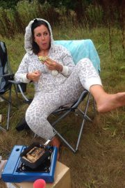 Lisa Appleton Forced to Live in Tree House in Wolverhampton 2018/08/14 9