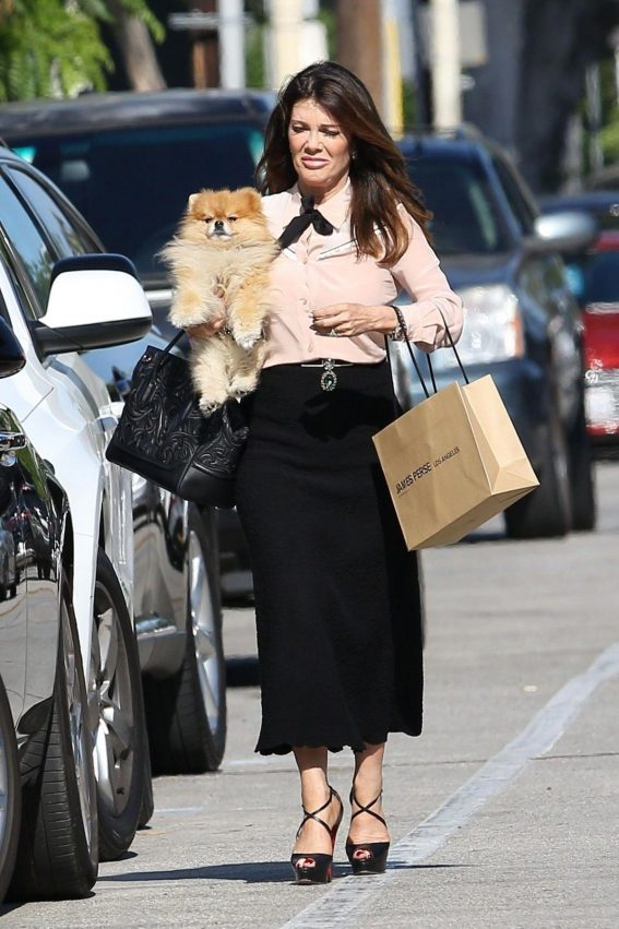 Lisa Vanderpump Out Shopping in West Hollywood 2018/08/14 1