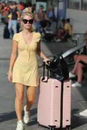 Lottie Moss Arrives at Airport in Ibiza 2018/08/11 2