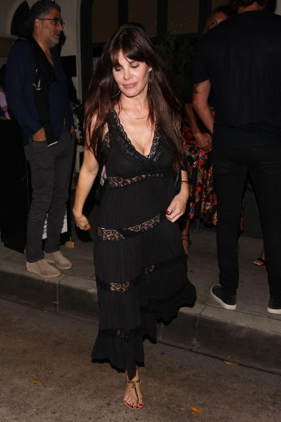 Lucila Sola at Madeo Restaurant in Beverly Hills 2018/08/16 1