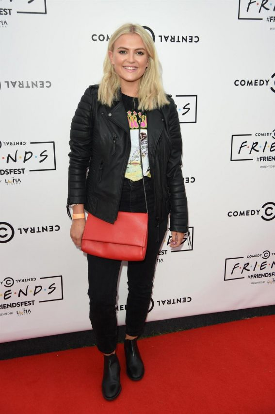 Lucy Fallon at Comedy Central's Friendsfest in Manchester 2018/08/07 1