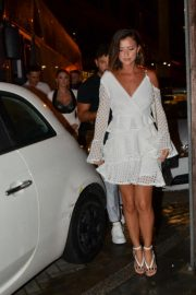 Lucy Mecklenburgh Arrives at Thomas Twins 30th Birthday Party in Manchester 2018/08/11 3
