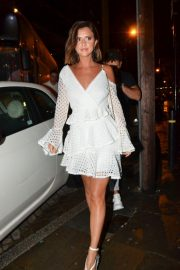 Lucy Mecklenburgh Arrives at Thomas Twins 30th Birthday Party in Manchester 2018/08/11 4
