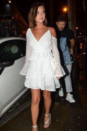 Lucy Mecklenburgh Arrives at Thomas Twins 30th Birthday Party in Manchester 2018/08/11 6