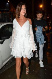Lucy Mecklenburgh Arrives at Thomas Twins 30th Birthday Party in Manchester 2018/08/11 7