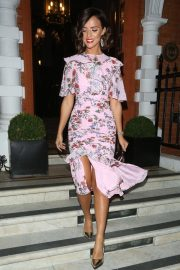 Lucy Mecklenburgh Celebrates Her 27th Birthday in London 2018/08/24 1