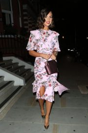 Lucy Mecklenburgh Celebrates Her 27th Birthday in London 2018/08/24 9