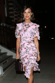 Lucy Mecklenburgh Celebrates Her 27th Birthday in London 2018/08/24 10