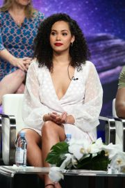 Madeleine Mantock at Charmed Panel TCA Summer Tour in Los Angeles 2018/08/06 2