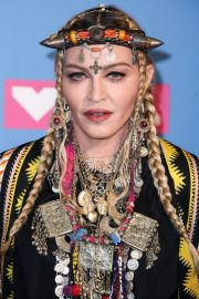 Madonna at MTV Video Music Awards in New York 2018/08/20 10