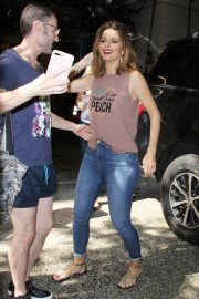 Maria Menounos Out and About in New York 2018/08/09 2