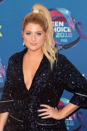 Meghan Trainor at 2018 Teen Choice Awards in Beverly Hills 2018/08/12 2