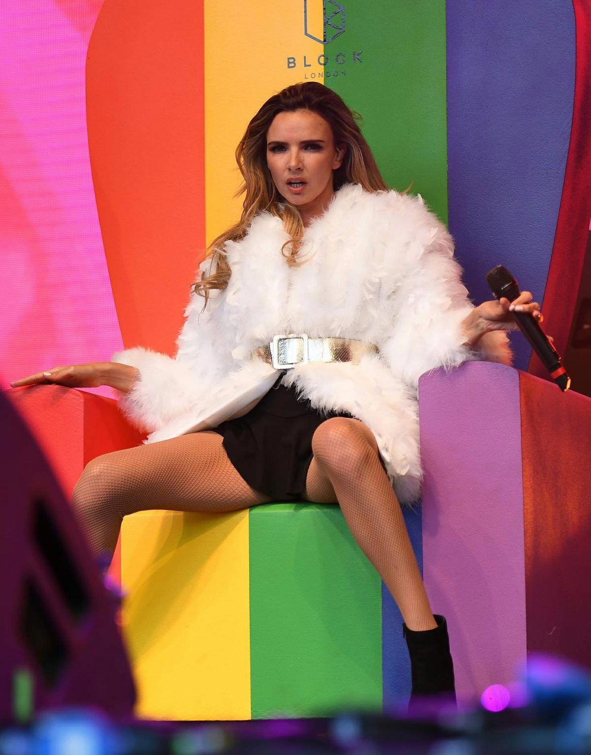 Nadine Coyle Performs at Manchester Pride 2018/08/25 1