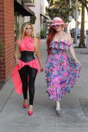 Phoebe Price and Marcela Iglesias Out for Lunch in Beverly Hills 2018/07/27 12