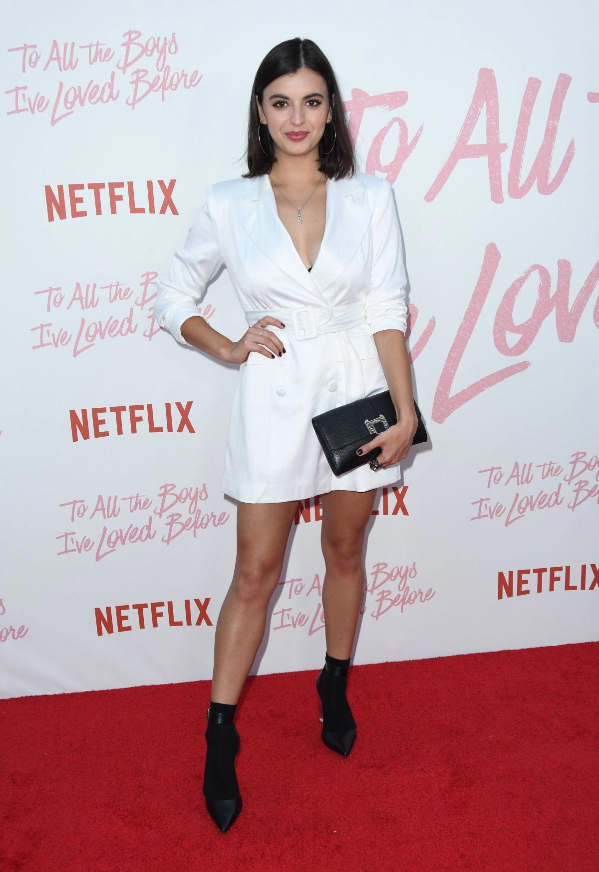 Rebecca Black at To All the Boys I've Loved Before Screening in Los Angeles 2018/08/16 1