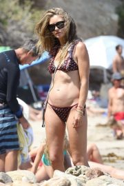 REBECCA GAYHEART in Bikini at a Beach in Malibu 2018/08/19 1