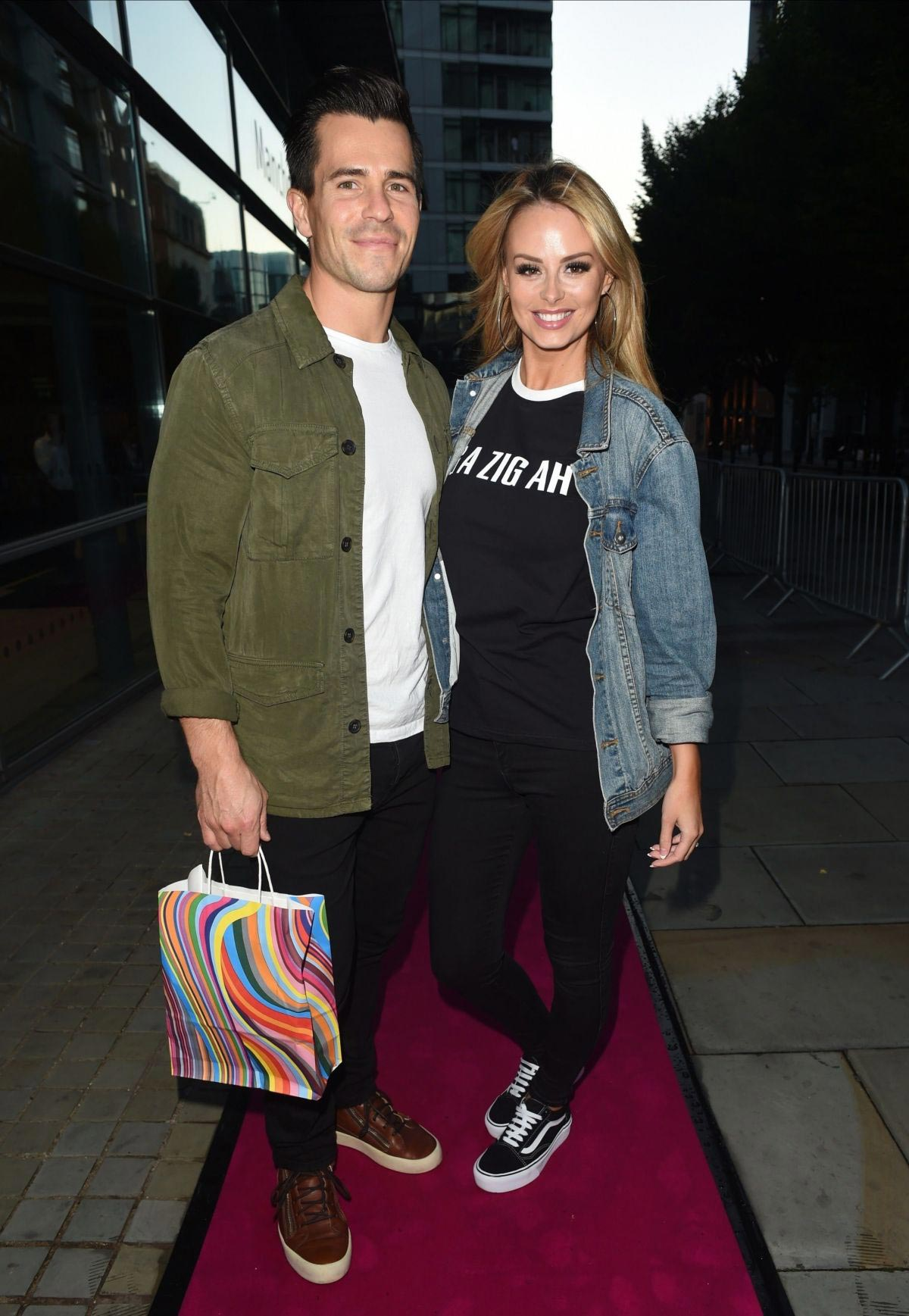 Rhian Sugden Leaves Spice Girls Exhibition in Manchester 2018/08/23 1