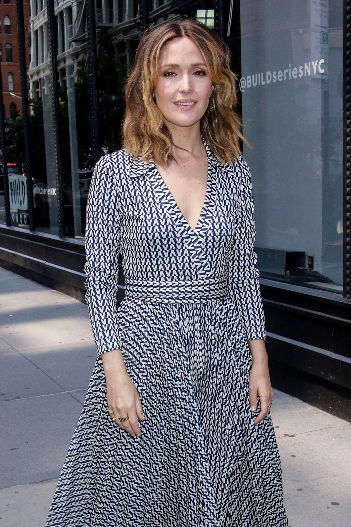 Rose Byrne at SiriusXM in New York 2018/08/15 1