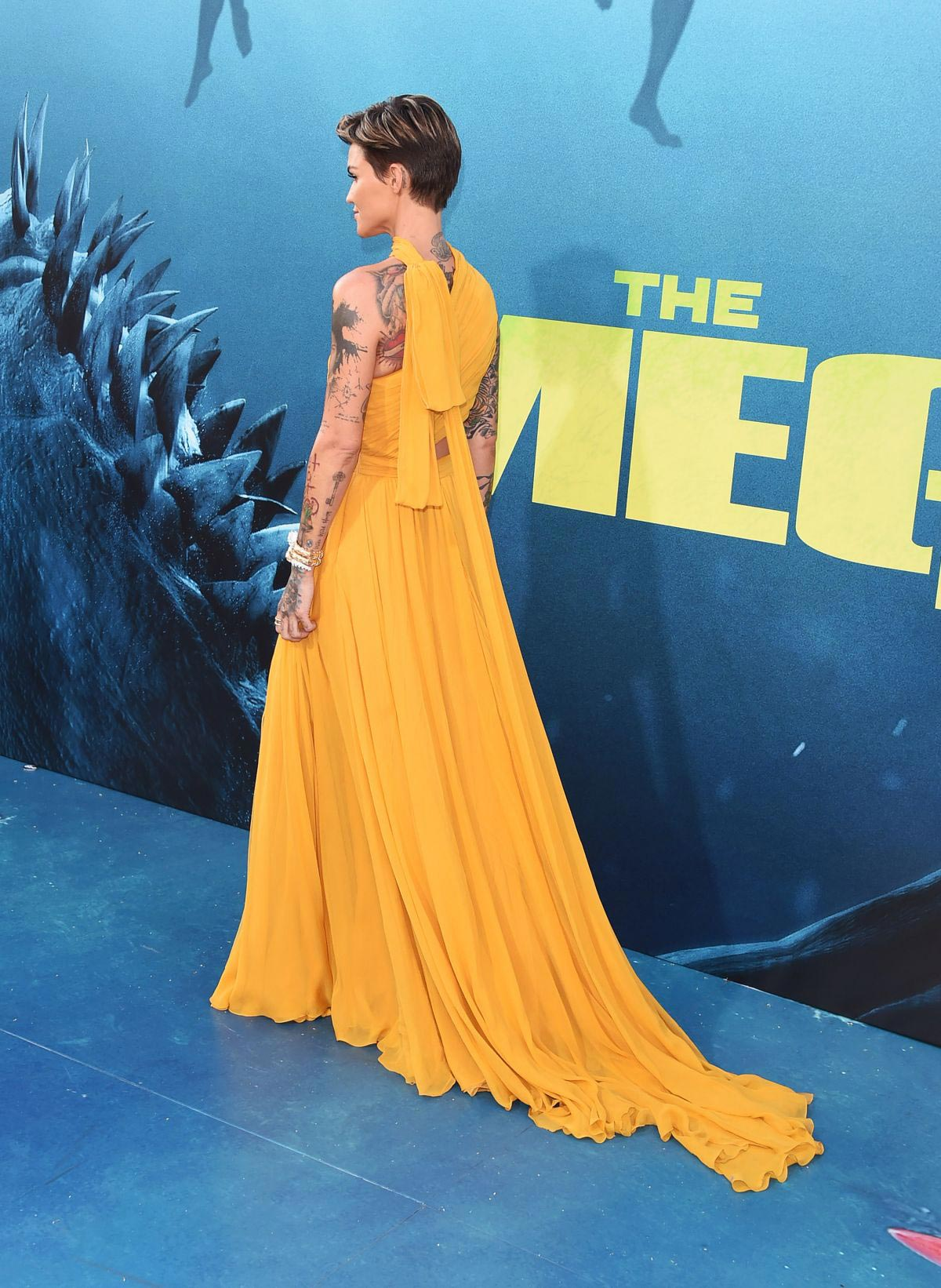 Ruby Rose at The Meg Premiere in Hollywood 2018/08/06 1
