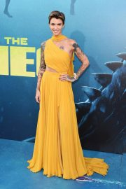Ruby Rose at The Meg Premiere in Hollywood 2018/08/06 2