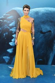 Ruby Rose at The Meg Premiere in Hollywood 2018/08/06 3