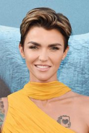 Ruby Rose at The Meg Premiere in Hollywood 2018/08/06 4