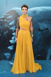 Ruby Rose at The Meg Premiere in Hollywood 2018/08/06 5