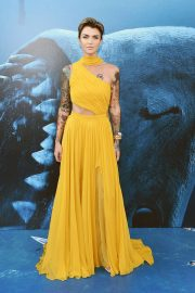 Ruby Rose at The Meg Premiere in Hollywood 2018/08/06 6