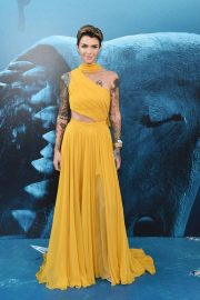 Ruby Rose at The Meg Premiere in Hollywood 2018/08/06 7