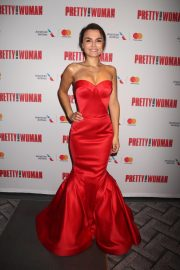 Samantha Barks at Pretty Woman: The Musical Opening Night in New York 2018/08/16 2